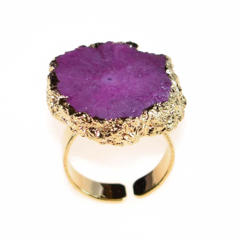 Δαχτυλίδι φο μπιζου χρυσό με ορυκτές πέτρες BZ-RG-00121 3c359241c48