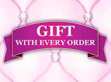 In order to get the Free Gift, your order value must be at least 5€, without calculating shipping charges.
