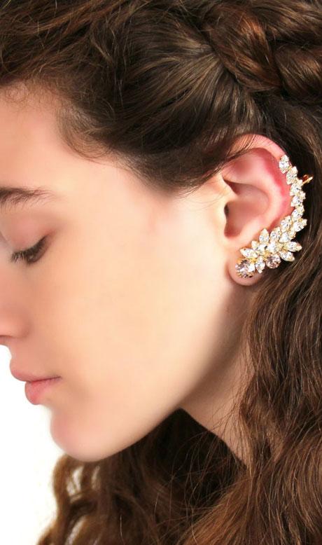 Γυναικεία Σκουλαρίκια Ear Climbers Ear Cuffs
