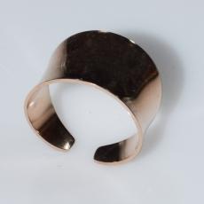 Δαχτυλίδι ατσάλινο (stainless steel) σε ροζ χρυσό χρώμα BZ-RG-00433 Εικόνα 3
